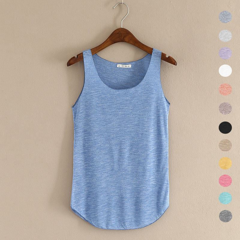 Fitness Tank Top New T Shirt Plus Size Loose Model Women T-shirt Cotton O-neck Slim Tops Fashion Woman Clothes