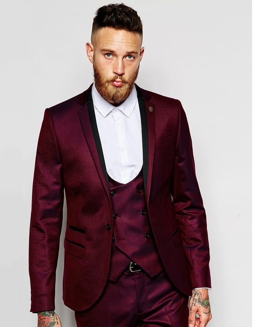 Best Selling Costume Homme Business Mens Suits Wedding Suits For Men