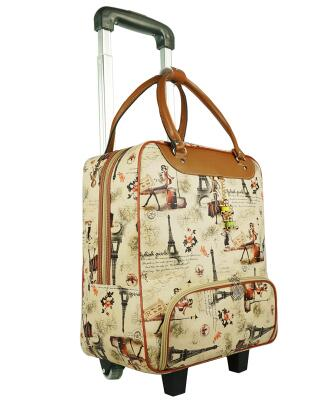 ... brand 20 Inch Women Travel luggage Trolley Bag on wheels Suitcase Travel  Rolling Bag Baggage Rolling ... 8d63ddc1aa