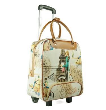 brand 20 Inch  Women Travel  luggage Trolley Bag on wheels Suitcase Travel Rolling Bag Baggage Rolling  Travel wheeled bag