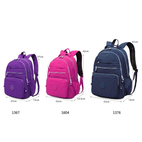 Backpack Women Travel Bags Multifunction Rucksack Waterproof  Backpacks For Teenagers