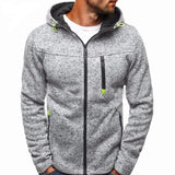 New Male Hoodie Cardigan Long sleeve hoodies Zipper Sweatshirt Hoodie Mens Hooded Plus size Coat Jacket