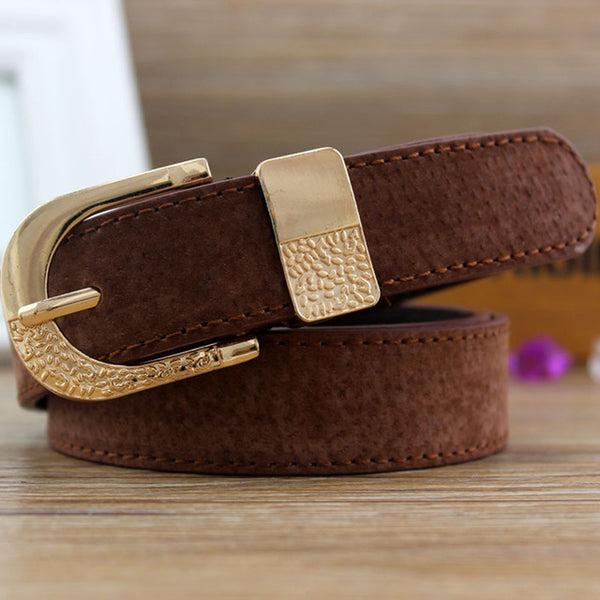 Fashion Women Wide Belt Female PU Leather Multicolor Elegant Waistbands Belts Ladies Dress Jeans Accessories
