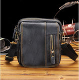 leather men bag high-quality wear-resistant multi-purpose Messenger bag high-grade leather business travel leisure packag