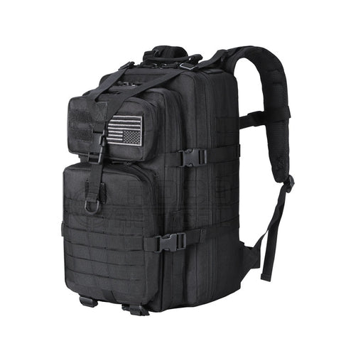 34L Molle Military Backpack Waterproof Military Assault Backpack 3P Attack Backpack Army Patrol Double Shoulder Rucksuck