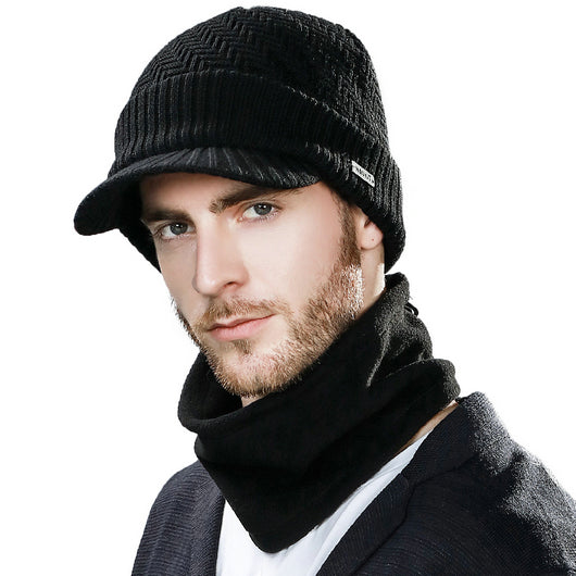 161cccb2db9 ... SIGGI Knitted Unisex Beanies Hat For Man Winter Balaclava Snowboard  Fleece Skull Peaked Cap Scarf Face