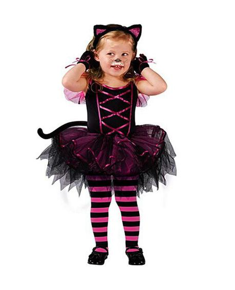 Halloween Costumes for baby girl tutu dress + Headdress Cheshire Cat girl Prom Animal Cosplay Apparel kids girl clothes