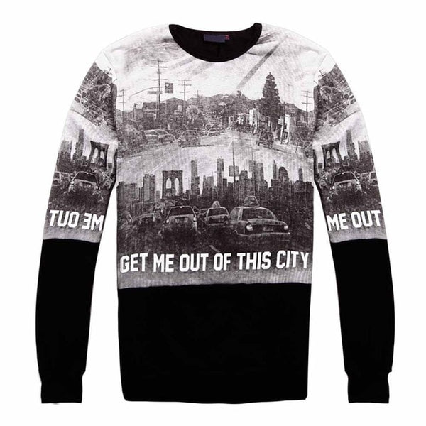 Autumn&Winter Men's Sweatshirts of Brand Clothing Hip Hop Hoodies for Male Outerwear City Photo