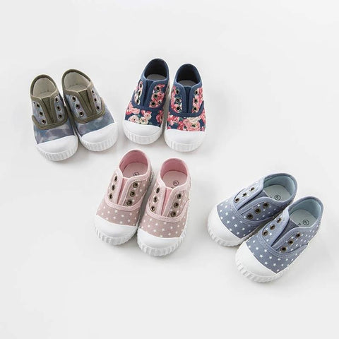 Spring baby boy girl kids canvas shoes brand shoes