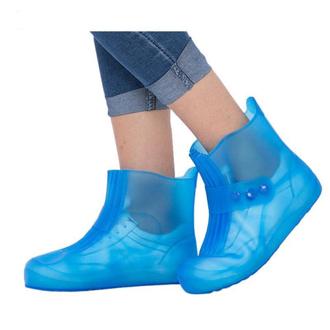 Fashion waterproof Shoes cover New children rainboots for boys girls