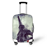 2018 Travel Luggage Protective Cover Waterproof Elastic Suitcase Covers For 18-30 Inch Case 3D Eiffel Tower Covers