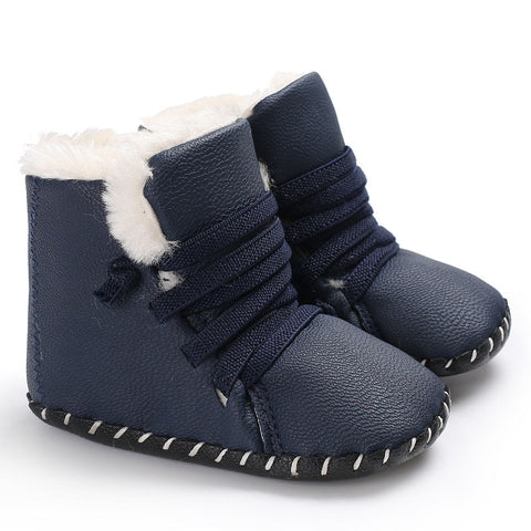 Fashion Baby Moccasins Shoes Soft Sole Baby Girls Shoes Boys First Walkers Baby Boots Booties