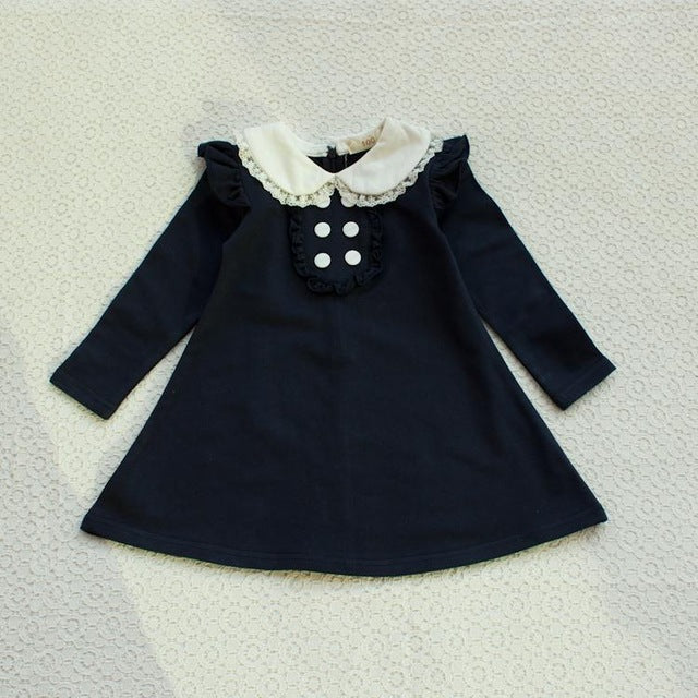e697161bb spring autumn new arrival cotton girl korean clothes doll collar ...