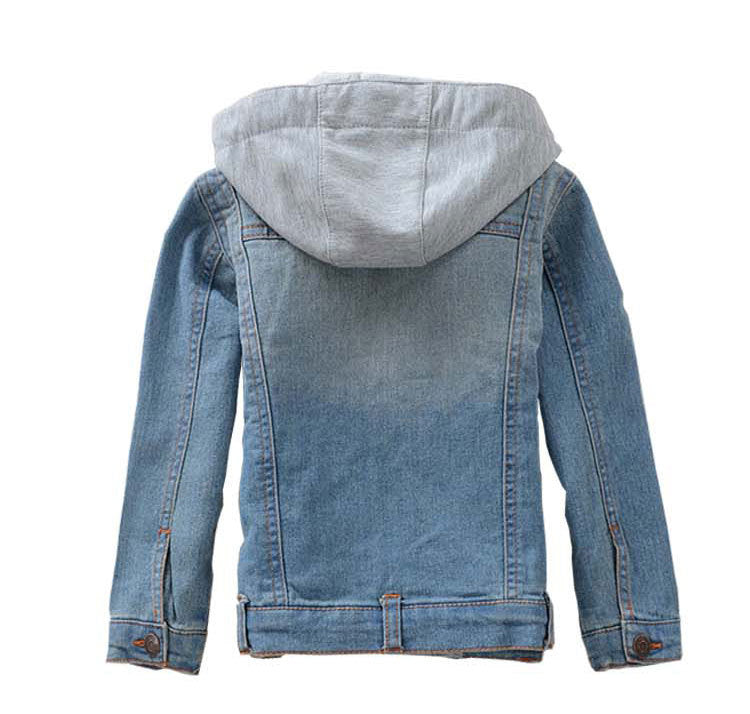 spring clothes for boys and girls denim jacket children's clothing Cotton Kids clothes  high quality coat baby clothes