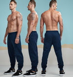 New Spring Causal Pants Men Autumn Lightweight Joggers Slim Fitted Active Sweatpants City Daily Pants Male AM5008