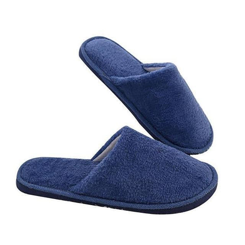 Senza Fretta Men Shoes Winter Warm Home Slippers Men Fashion Couple Men Plush Warm Slippers Indoor Soft Couple indoor Slippers