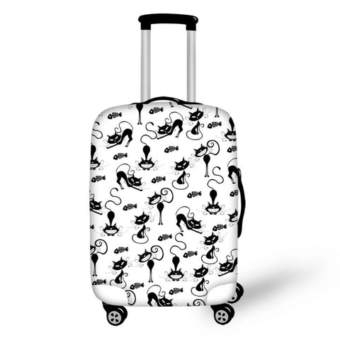 Luggage Cover S/M/L Trolley Protective Elastic Suitcase Covers Apply 18-30 Inch Travel