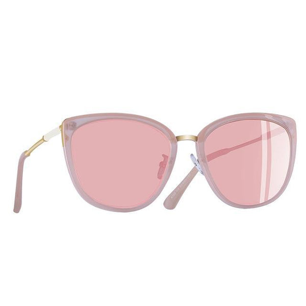 New Cat Eye Sunglasses Women Fashion Small Polarized Sunglasses Metal Legs Shades UV400 A105