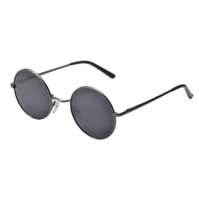 7b09159023 ... New Brand Designer Classic Polarized Round Sunglasses Men Small Vintage  Retro John Lennon Glasses Women Driving ...