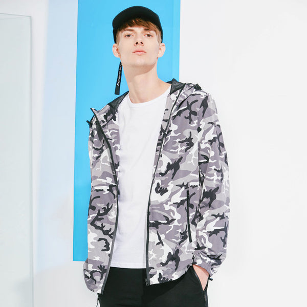 camouflage jacket men brand-clothing military army style thin jacket coat male quality outerwear AJK801045