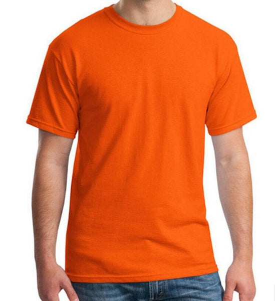 New Summer Men Modal Solid T Shirt Blank pure color Casual Tees Plain 100%cotton O-neck Short Sleeve Slim T-shirt