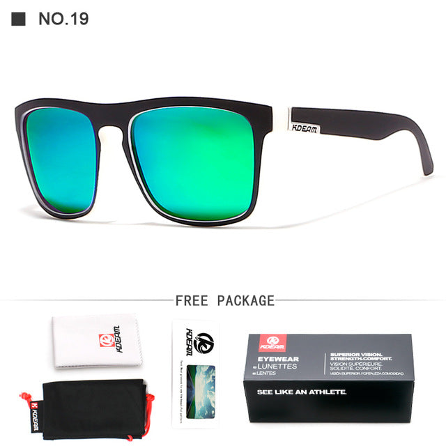 be9d2ff9f1 ... Good quality Polarized Sunglasses Men Square Summer Sun Glasses  Polaroid lens Women Brand Designer 6 Colors ...