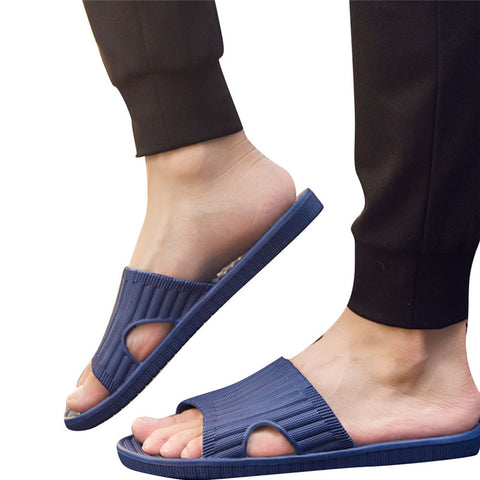 Men Shoes flip flops Summer Antiskid Flip-Flops Shoes slippers Male Men's Indoor casual Slipper zapatillas hombre zapatos
