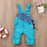 2018 new lovely children rompers Toddler Kid Baby Boy Girl sleevelss Dinosaur Romper Jumpsuit cute kid cartoon Outfits Clothes