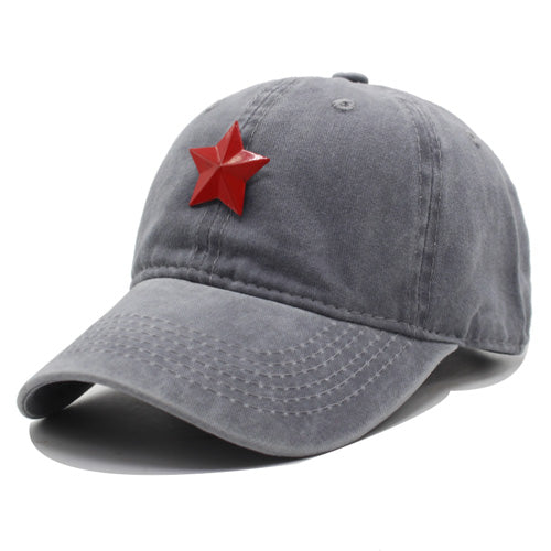 New Baseball Cap Men Women Hats For Men Snapback Caps Cotton Casquette Brand Bone Gorras Five Star Baseball Hat Cap 2018