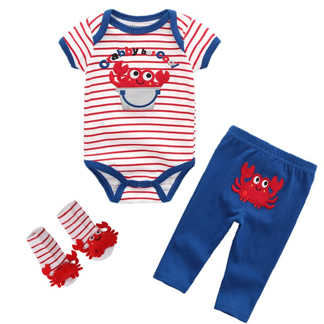 91dbccf16c1 Baby Clothing Sets Newborn Baby Boy Girl Clothes Cotton Girls Summer Dresses  Short O-neck ...