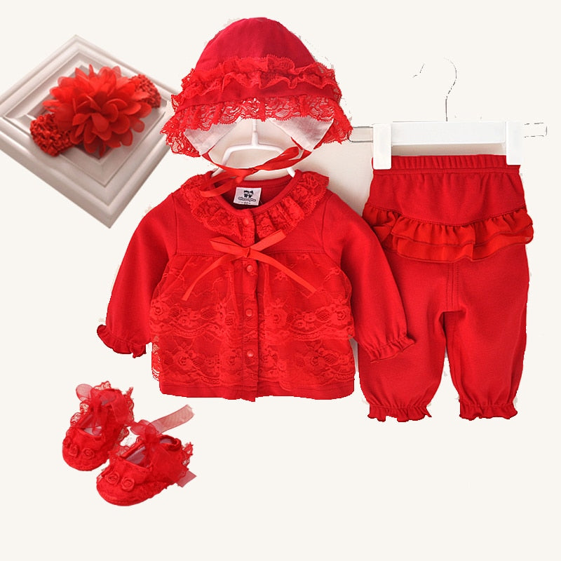 d9fafa712c05 3 Pcs cute newborn baby girl clothes set 1st birthday 2017 new style baby  clothing baby ...