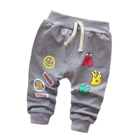 Baby Pants Spring Autumn Cotton Good Quality Trousers Baby Boys Pants Girls Pants 0-3 Year Kids Pants