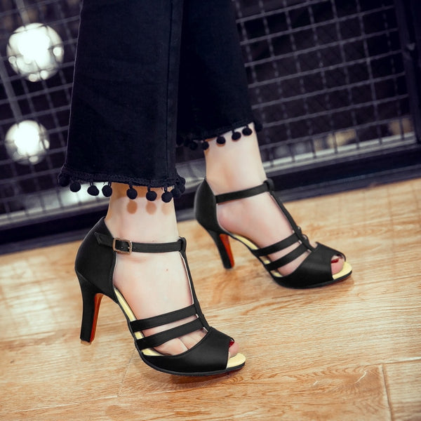 Direct Selling Sale fashion  Feminino  Summer Sandals Ladies Lady Fashion dance party Shoes High Heel 997