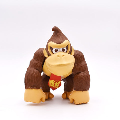 DONKEY KONG 1piece 6''15cm SUPER MARIO BROS PVC FIGURE TOY Action Figure Toys