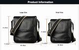 high-end Full Grain Genuine Cow Leather Flap Men Bags Black Brown Luxury Retro Business Shoulder & Messenger Bags (XW8669)