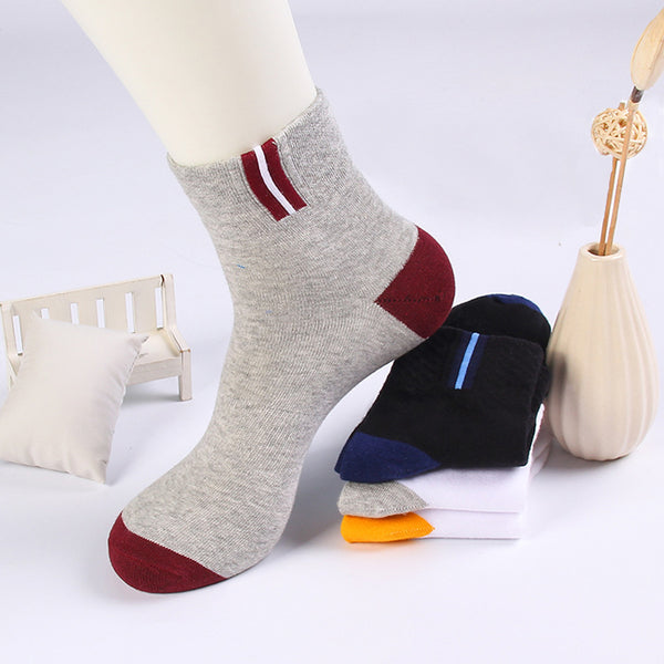 1Pair Casual Men Cotton Ankle Socks for Men's Short Short Socks Male Socks Slipper Shallow Mouth Male Dress Socks Meias Homens