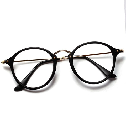 Women Men Vintage Round Eyewear Frames Retro Optical Glasses Frame  Eyeglasses Goggle Oculos