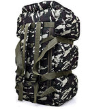 90L Large Capacity Military Tactics Backpack Trek Travel Rucksack Camp Hike Waterproof Camouflage Luggage Bag Men Travel Bag