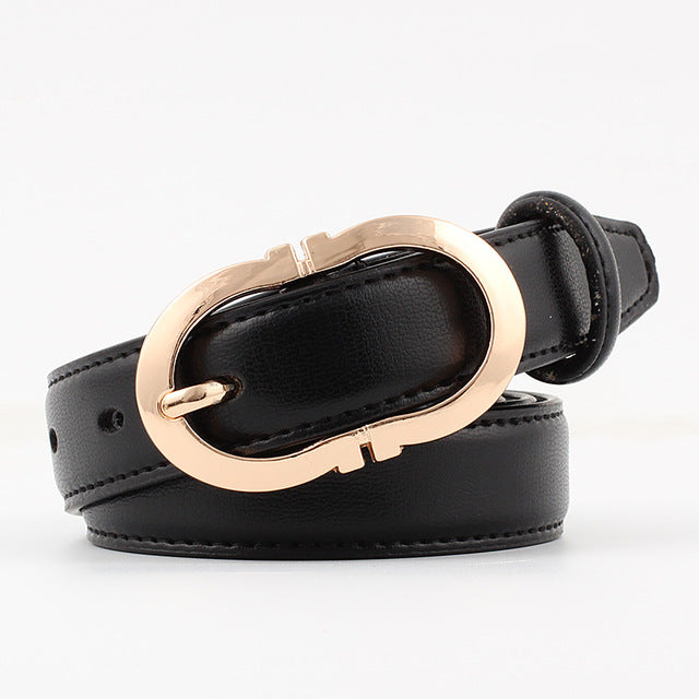 Genuine leather pin buckle Female Belt For Women decoration Dress coat