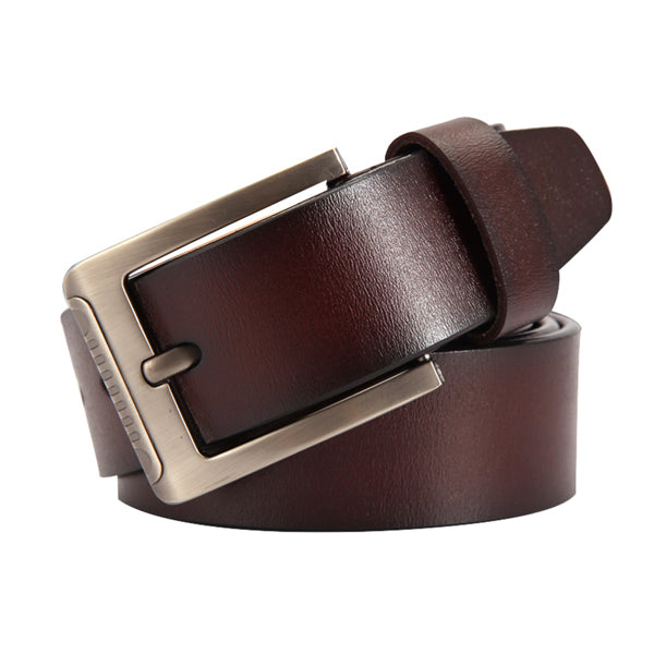 Men's belt leather belt men male genuine leather strap luxury pin buckle casual men's belt Cummerbunds ceinture homme
