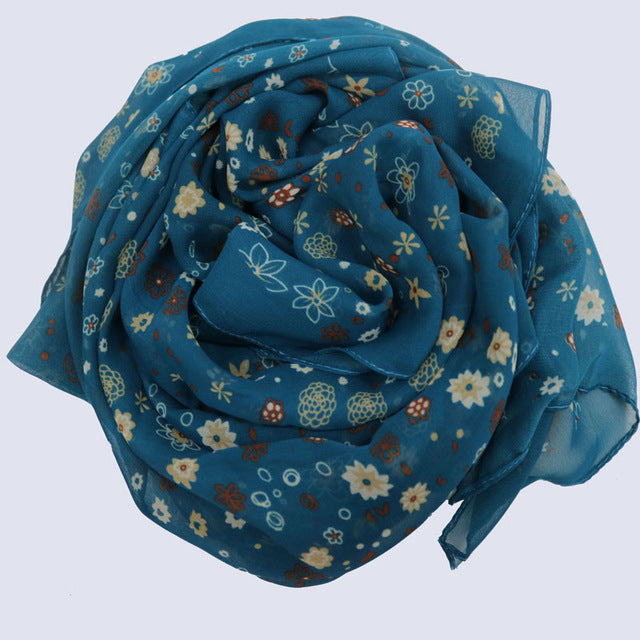chiffon Scarf for Shawls Shawl women scarves big winter wraps wrap Hijab lot cape female sciarpa and stoles scarfs bufanda mujer