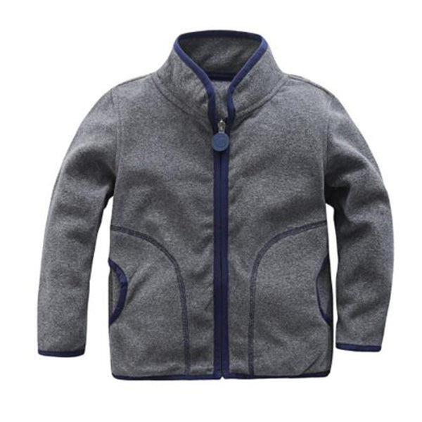 Spring&Autumn Children Kids Boy girl hoodies Baby Boys girls stripe fleece jackets and coats kids boys sweatshirt