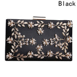2018 New Women Flower Bag Ladies Clutches Party Bags Female Beaded Wedding Clutch Purses