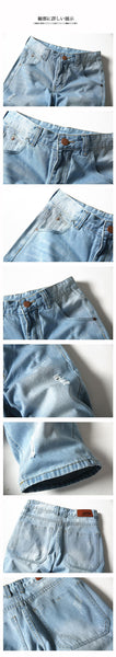 Summer Mens Solid Color Cowboy Shorts Men,Summer Fashion Men's Large Size Thin Denim Shorts ,comfortable Loose Jeans Shorts
