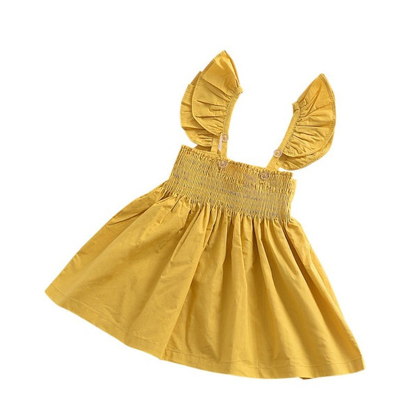 Dresses For Girls Baby Clothes Newborn Baby Girls Dress Summer Bow Cotton Princess Birthday Wedding Baby Girls Clothes Dresses on Johnkart.com