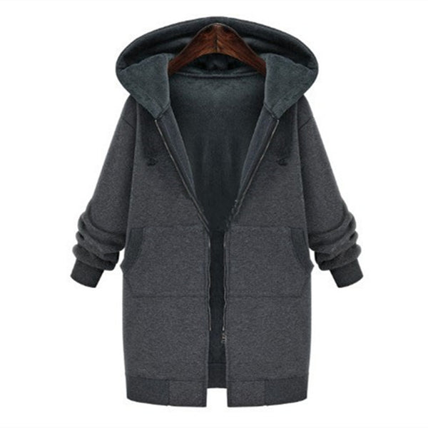 New autumn and winter women trench coat slim fashion medium-long windbreaker patchwork OL hooded outwear free shipping
