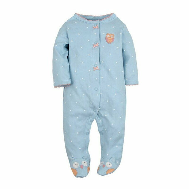 2018 fashion baby pajamas infant baby girl clothing unisex baby boys clothes 100% cotton baby rompers newborn