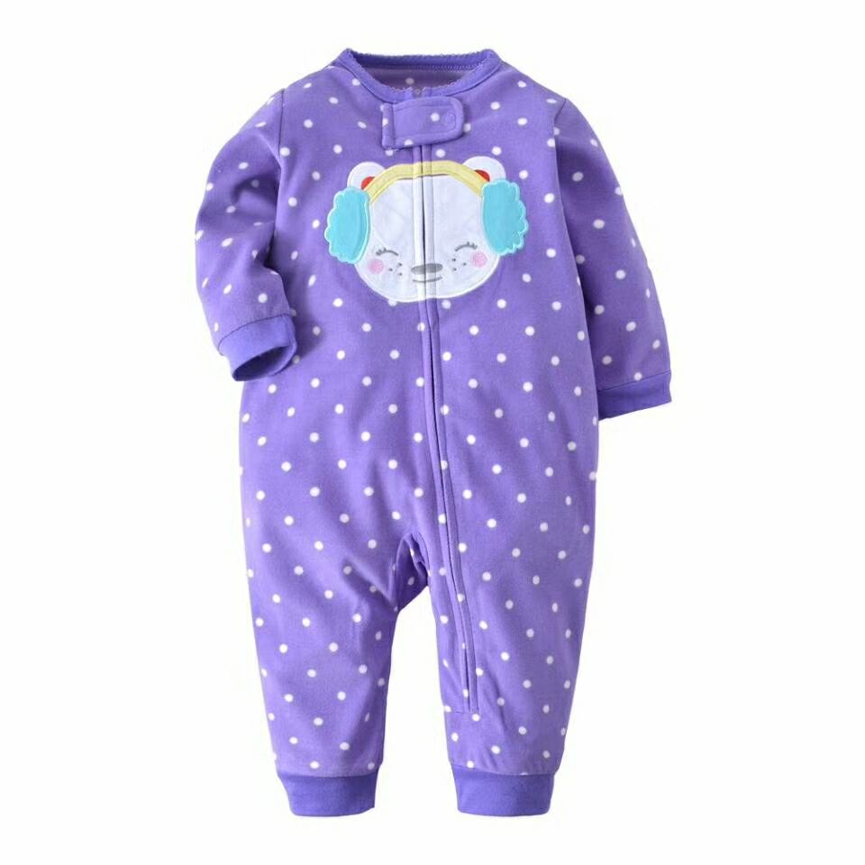 8e9703b991a9 New 2018 Autumn Spring Baby Rompers Clothes Long Sleeves Newborn Boy ...
