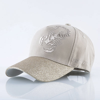 Cotton bone embroidery sun hats for men snapback caps Scorpions cap women's spring Baseball Cap women Truckers Gorros