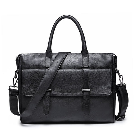 Men Laptop Bag Briefcase Fashion Men's Business Bags Casual Leather Messenger Bag for Men